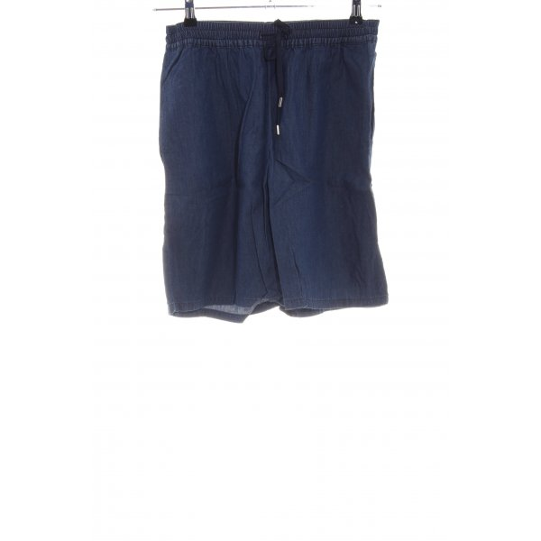 Stefanel Shorts blau Casual-Look