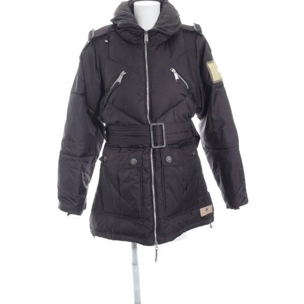 Stella McCartney for Adidas Winterjacke dunkelbraun Street-Fashion-Look