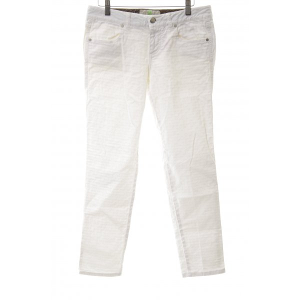 Stella McCartney Slim Jeans weiß Casual-Look