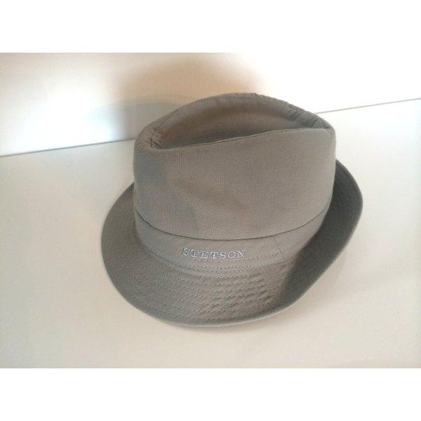 STETSON Cappello Trilby argento Cotone