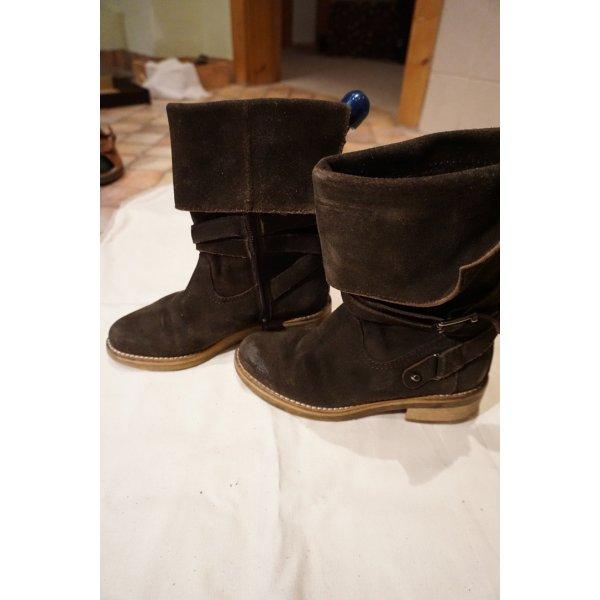Stiefel Boots Ralph Harrison braun Vintage Größe 38