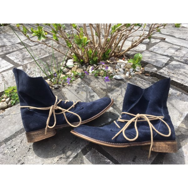 Liebeskind Lace-up Booties dark blue