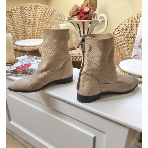 Stiefeletten /Boots Echtes Leder Neu!