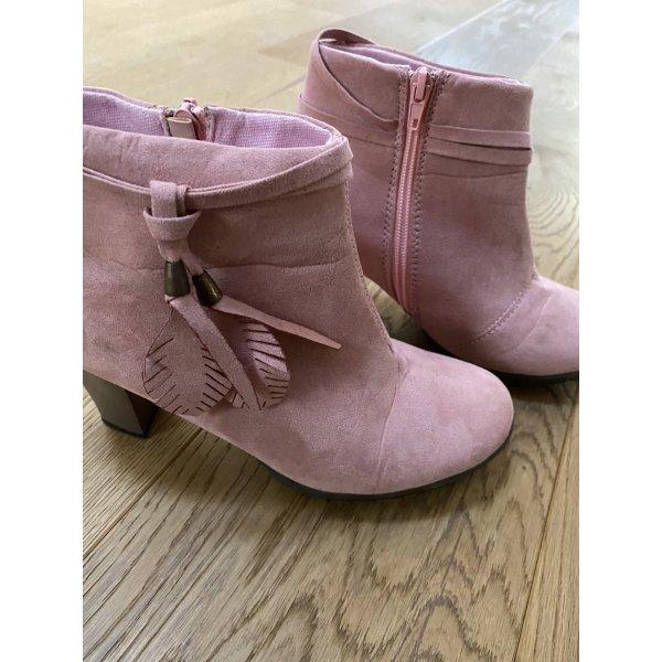 Stiefeletten rosa pink