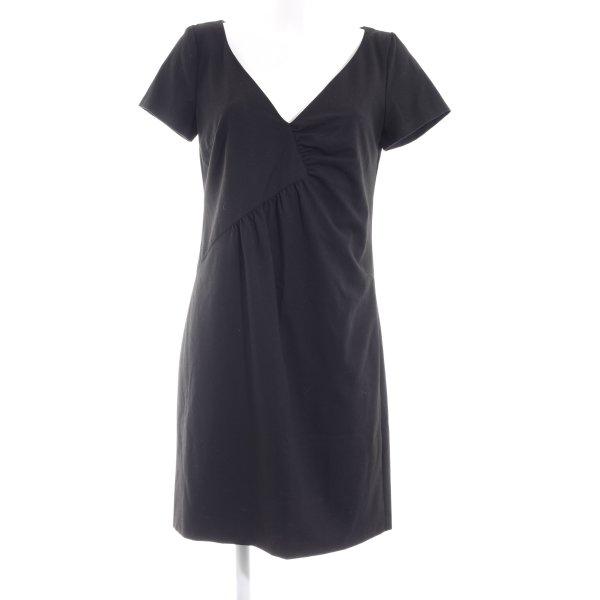 Stile Benetton Kurzarmkleid schwarz Elegant