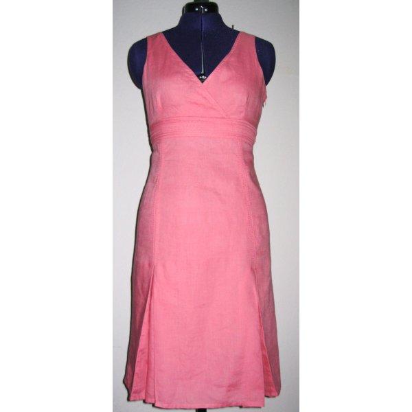 Adolfo Dominguez Empire Dress pink linen