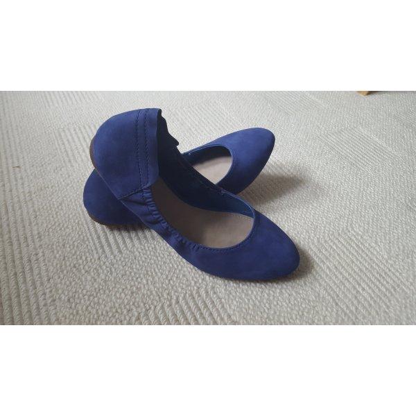 Strahlend blaue Esprit Ballerinas