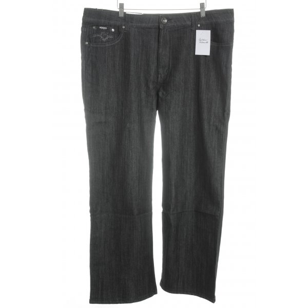 Straight-Leg Jeans schwarz Casual-Look