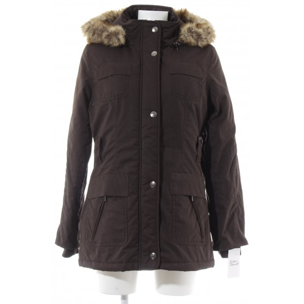 Street One Parka dunkelbraun Casual-Look