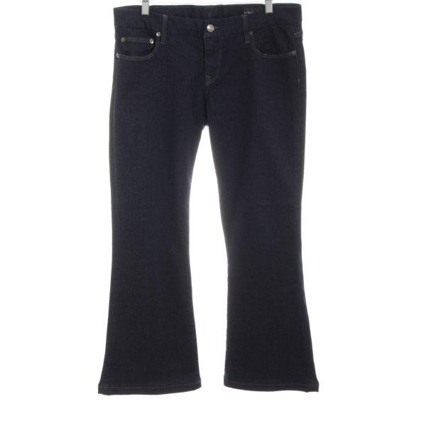 Strenesse Boot Cut Jeans dunkelblau Casual-Look