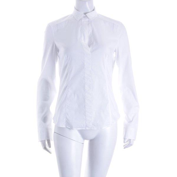 Strenesse Hemd-Bluse weiß Business-Look