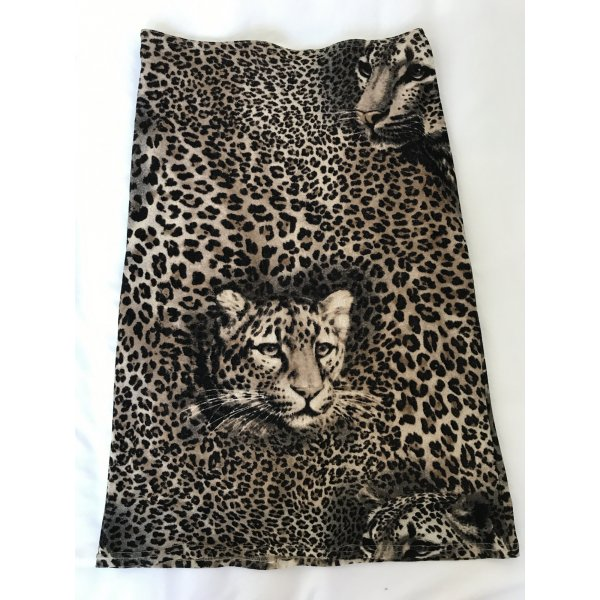 Stretchrock im Animal Print