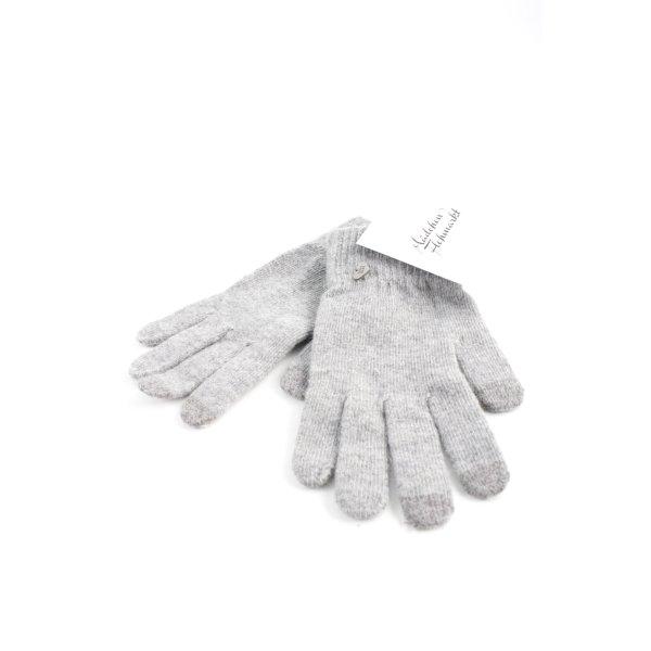 Strickhandschuhe grau Casual-Look