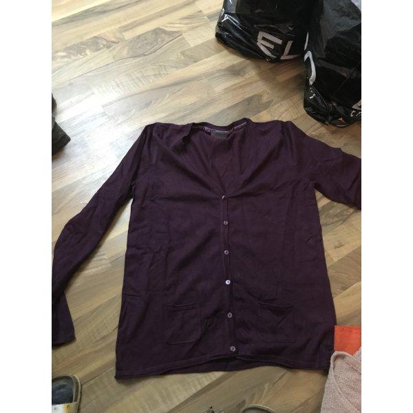 Street One Shirt Jacket brown violet-light pink