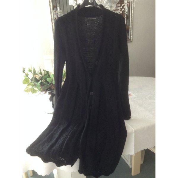 Gebreide jas zwart