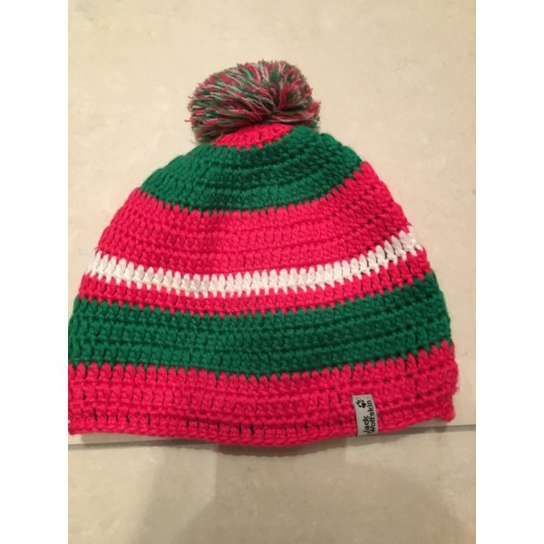 Jack Wolfskin Knitted Hat multicolored