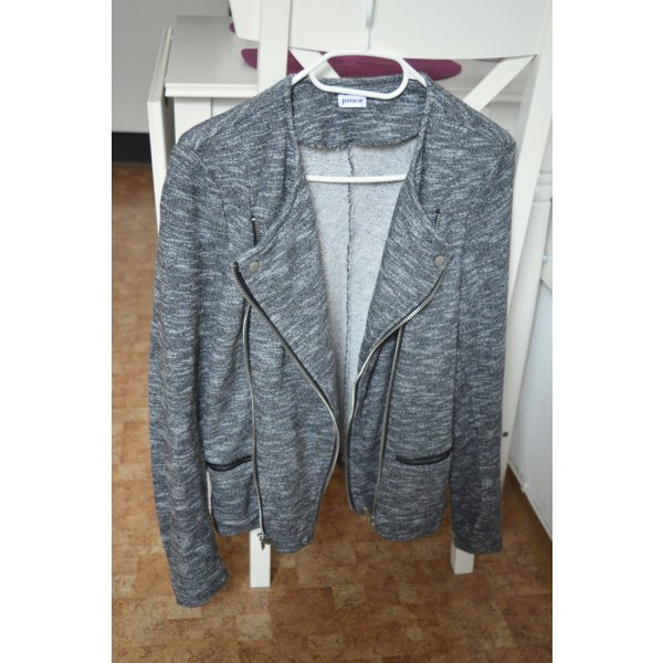 Stylische Jacke in grau