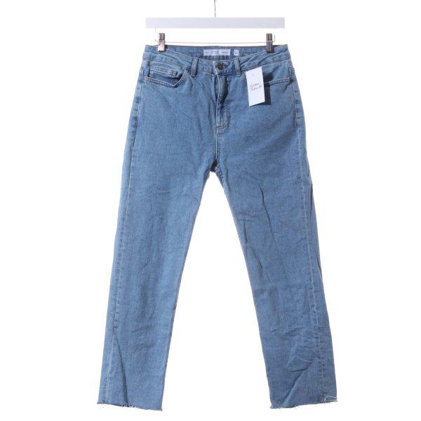 "Subdued High Waist Jeans ""Cigarette High Waist"" hellblau"