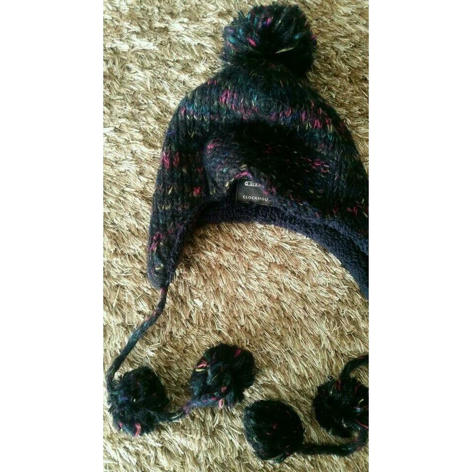 C&A Knitted Hat dark blue-violet