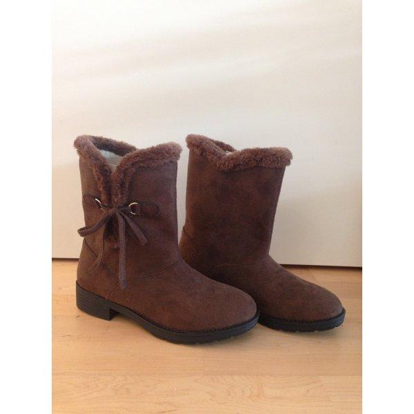Korte laarzen bruin