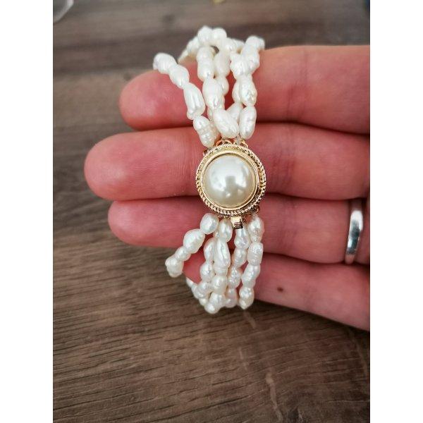 Süßwasser Perlen Armband Vintage