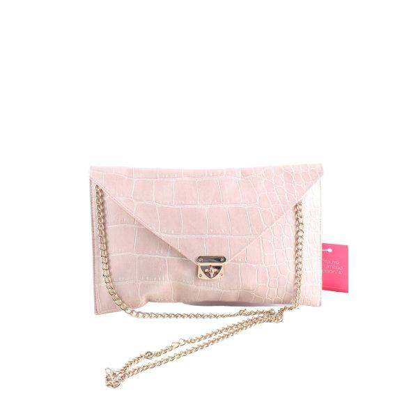Suiteblanco Schultertasche pink Allover-Druck Elegant