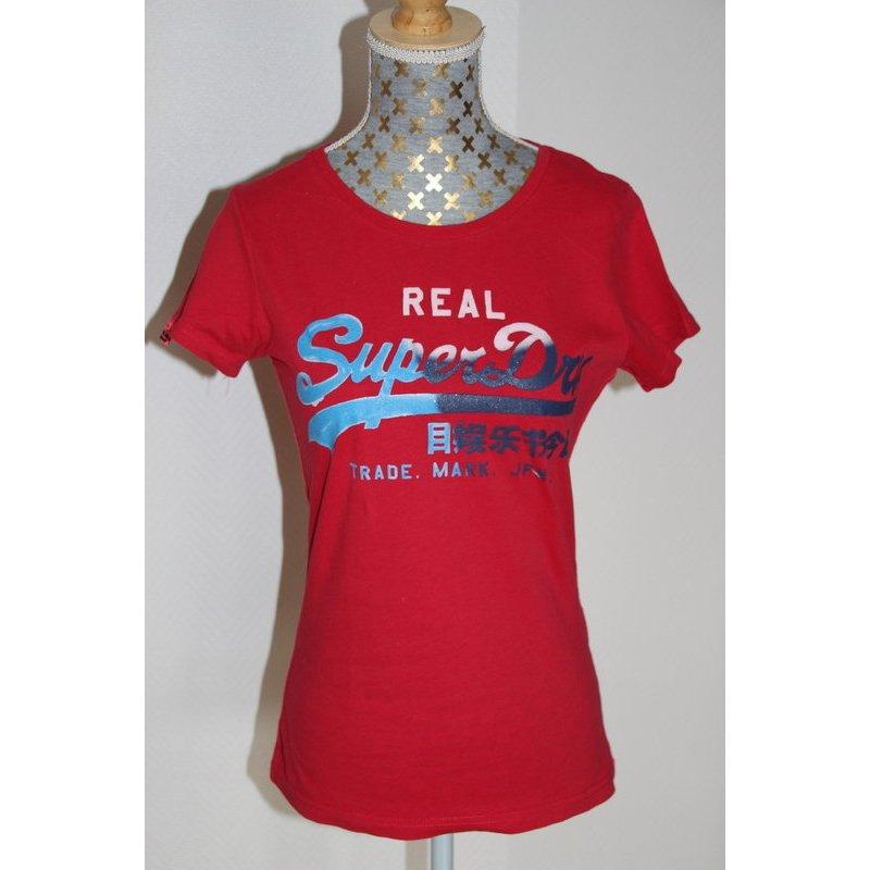 Superdry Shirt Gr. XS rot