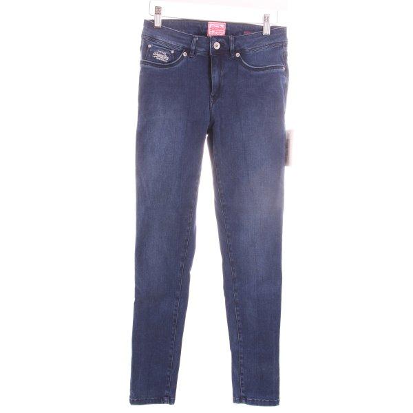 """Superdry Skinny Jeans """"Second Skin """" blau"""