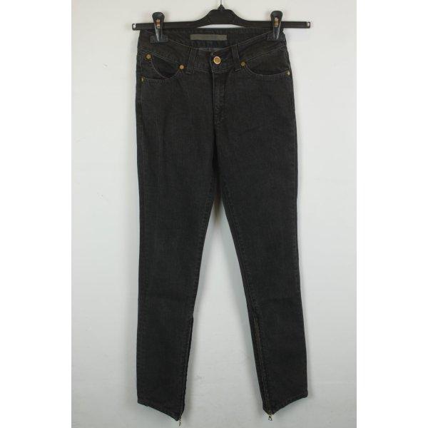 Superfine Skinny Jeans Gr. 26 grey denim
