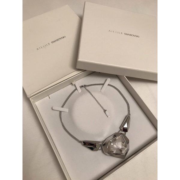 Swarovski Collier argento