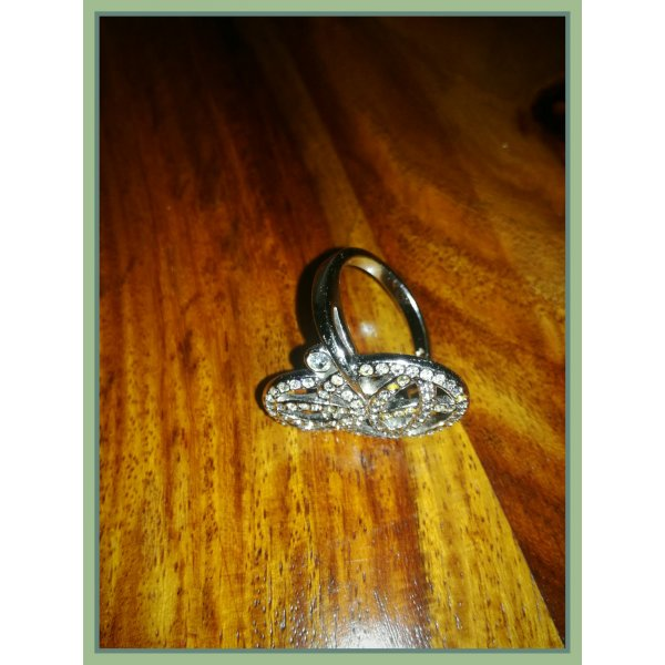 Swarovski Silberring