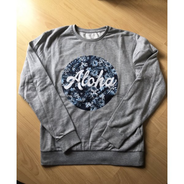 Sweater mit Aloha-Druck