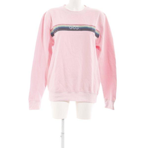 Sweatshirt hellrosa Casual-Look