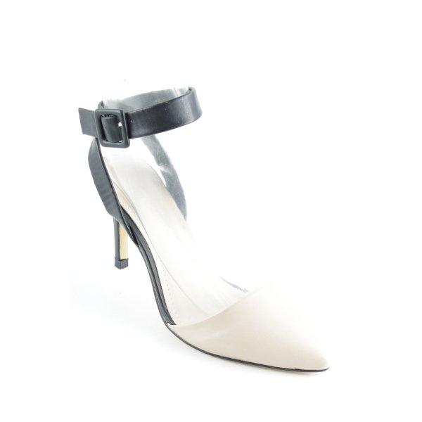 Sweet Shoes Spitz-Pumps nude-schwarz Elegant