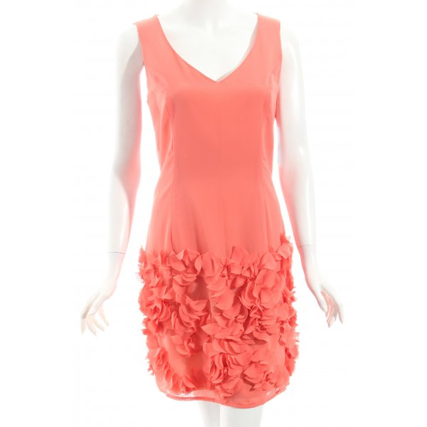 Swing Kleid apricot Party-Look