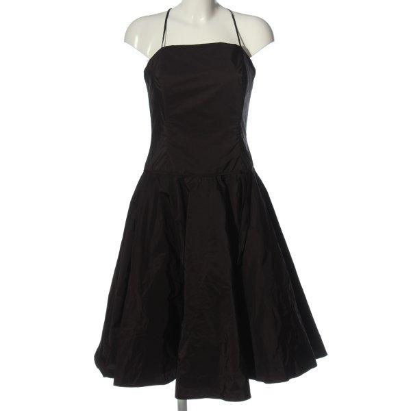 Swing Midikleid schwarz Elegant
