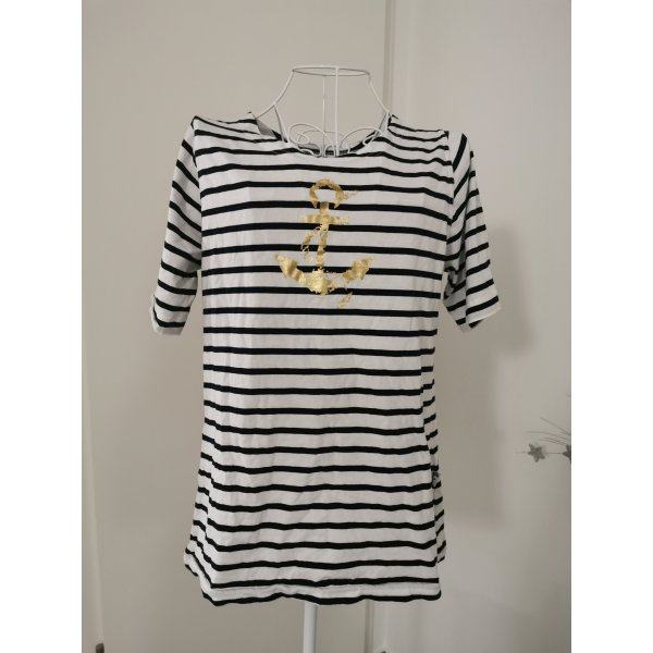 t-shirt gestreift anker