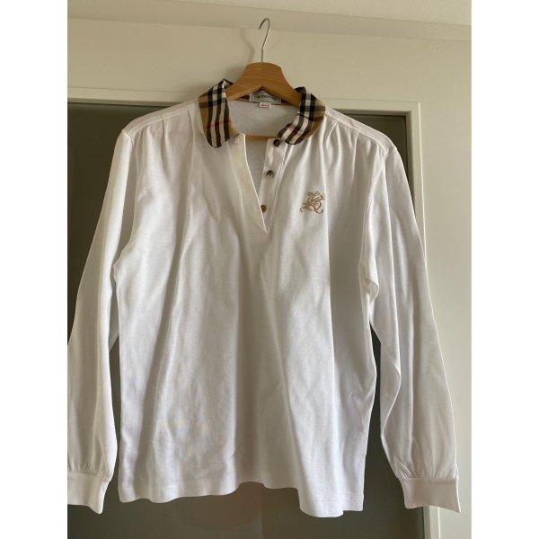 T Shirt langarm im burberry Style