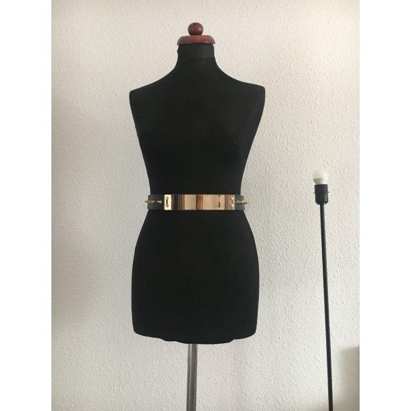 Zara Ceinture de taille noir-doré