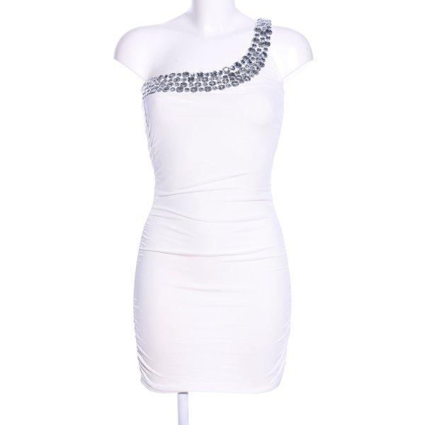 Tally Weijl One-Shoulder-Kleid weiß Elegant