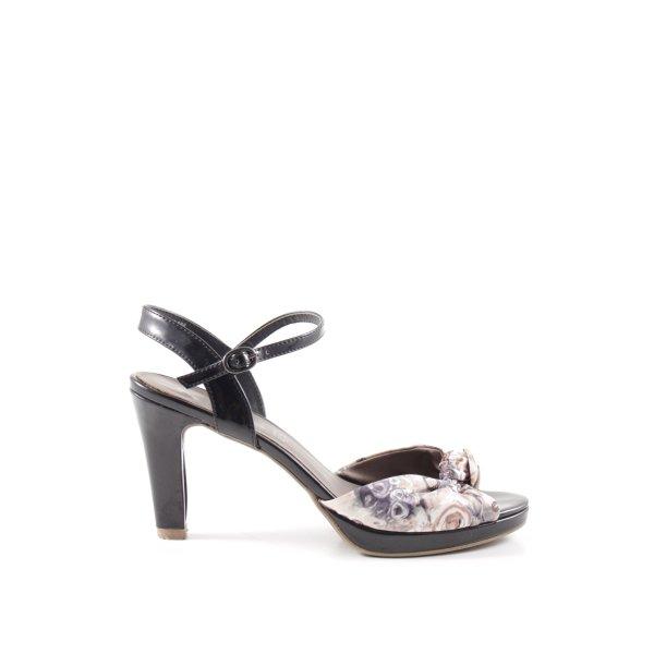 Tamaris Riemchen-Sandaletten Mustermix Business-Look