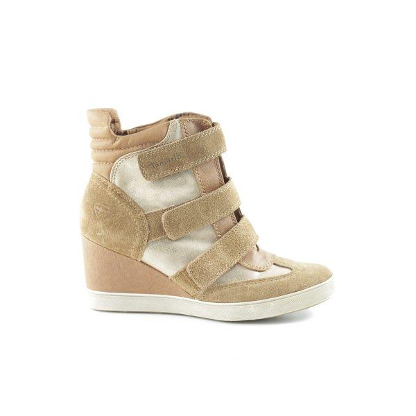 Tamaris Wedge Sneaker mehrfarbig Casual-Look