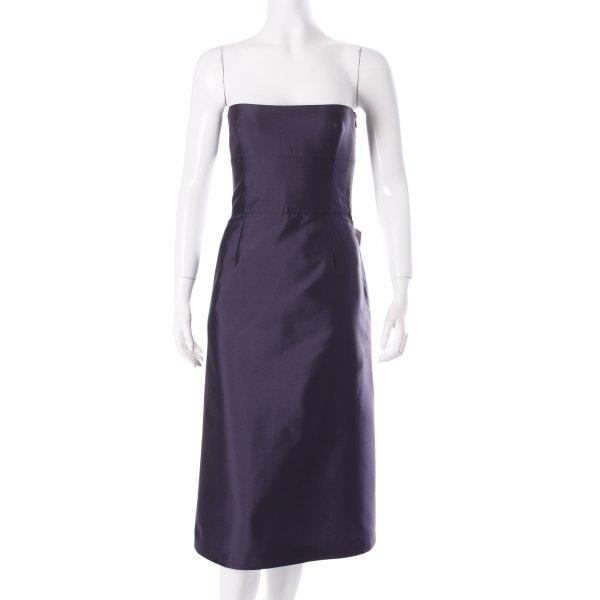 Tara jarmon Corsagenkleid dunkelviolett Eleganz-Look