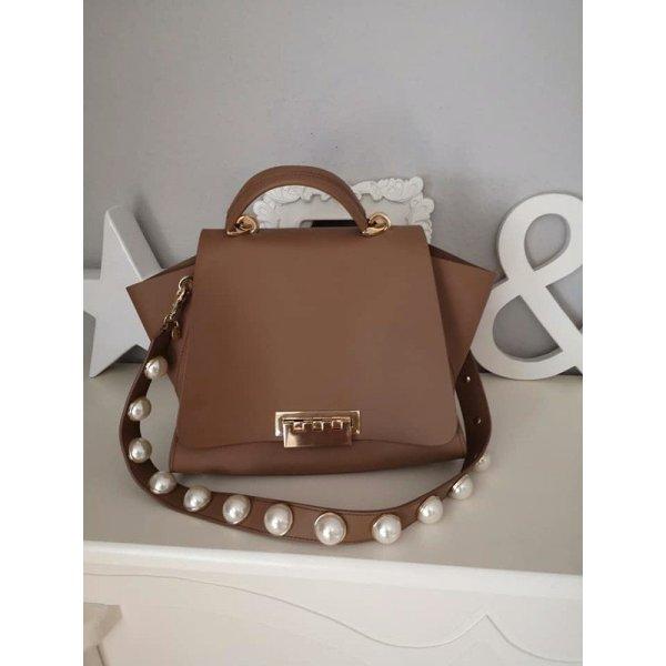 Tasche bag braun Perlen Gurt Perlengurt Zac Posen blogger boho