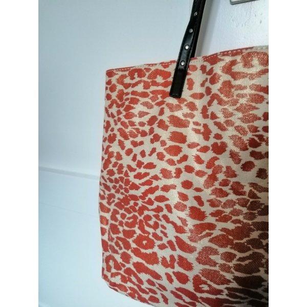 Tasche mit schimmerndem Leoprint Mango NEU
