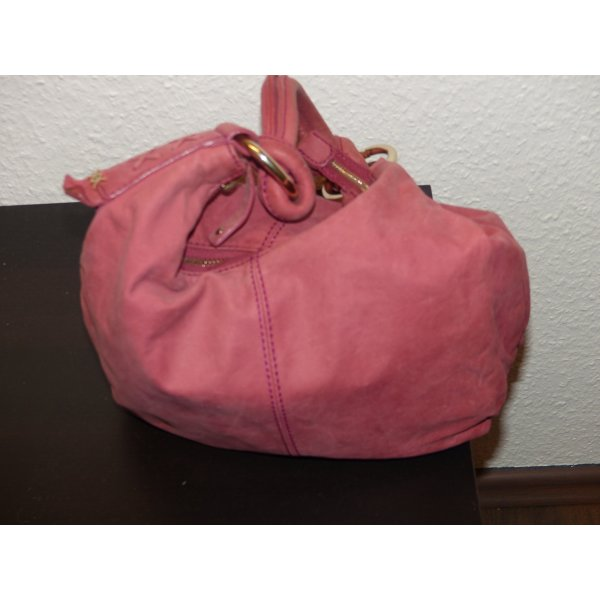 Mexx Carry Bag pink-pink suede