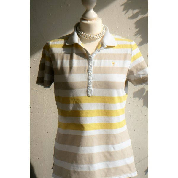 TCM: Gestreiftes Poloshirt, Größe M (40/42)