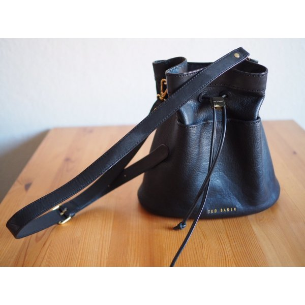 Ted Baker Bucket Bag schwarz