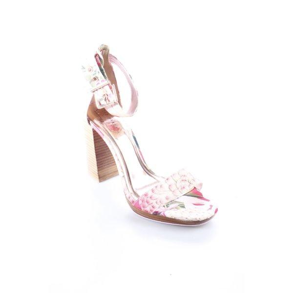 Ted baker High Heels florales Muster Boho-Look