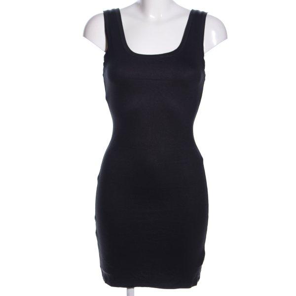 The Drop Jerseykleid schwarz Business-Look